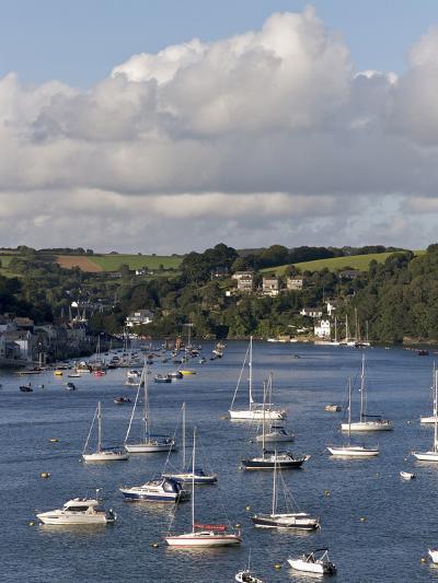 Fowey Harbour and Estuary, Cornwall, England, Uk--Photographic Print