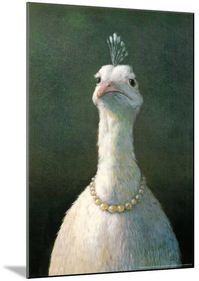 Fowl with Pearls-Michael Sowa-Mounted Print