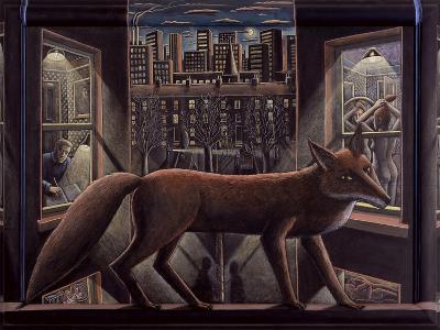 Fox, 2015-PJ Crook-Giclee Print