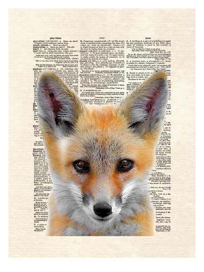 Fox Face-Matt Dinniman-Art Print