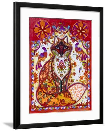 Fox Folk-Oxana Zaika-Framed Giclee Print