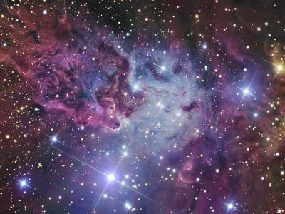 Fox Fur Nebula-Stocktrek Images-Photographic Print