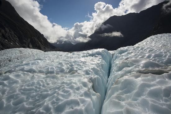 Fox Glacier in Retreat from a Warming Climate-Michael Melford-Photographic Print
