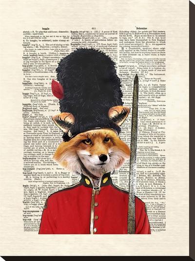 Fox Guard-Matt Dinniman-Stretched Canvas Print