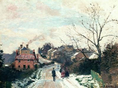 Fox Hill, Upper Norwood, 1870-Camille Pissarro-Giclee Print