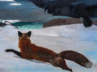 Fox Hunt, 1893-Winslow Homer-Art Print