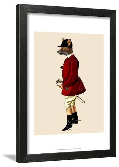 Fox Hunter 1-Fab Funky-Framed Art Print