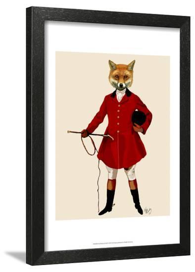 Fox Hunter 2 Full-Fab Funky-Framed Art Print