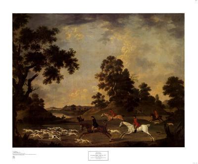 Fox Hunting in Full Cry-James Seymour-Art Print