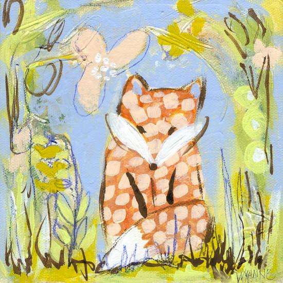 Fox in the Brambles-Wyanne-Giclee Print