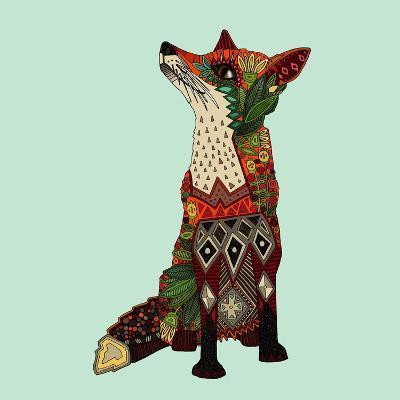 Fox Love-Sharon Turner-Art Print