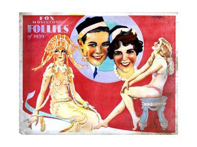 Fox Movietone Follies of 1929, Center, John Breeden, Sharon Lynn, 1929--Giclee Print