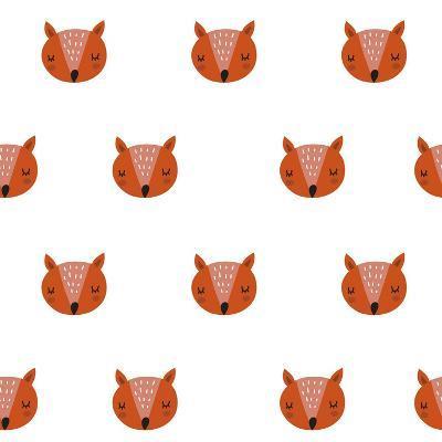 Fox Print-Nadezda Barkova-Art Print