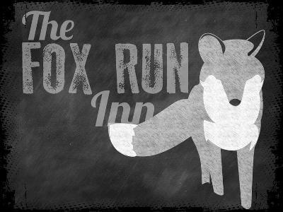 Fox Run Inn--Giclee Print