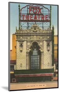 Fox Theater, St. Louis, Missouri