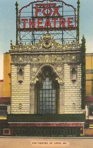 Fox Theatre, St. Louis, Missouri
