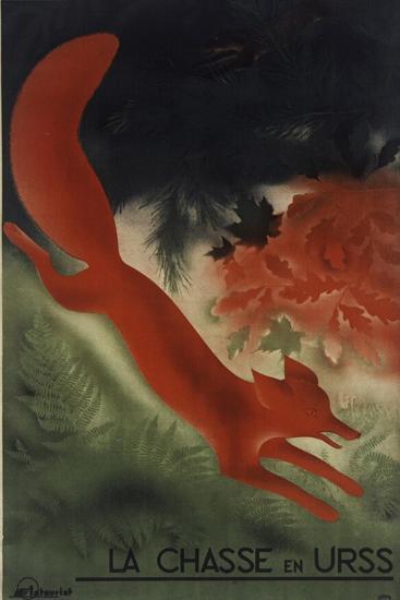 Fox USSR--Giclee Print