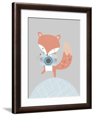 Fox-Nanamia Design-Framed Art Print
