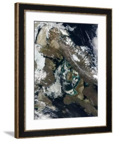Foxe Basin in Northeast Canada-Stocktrek Images-Framed Photographic Print