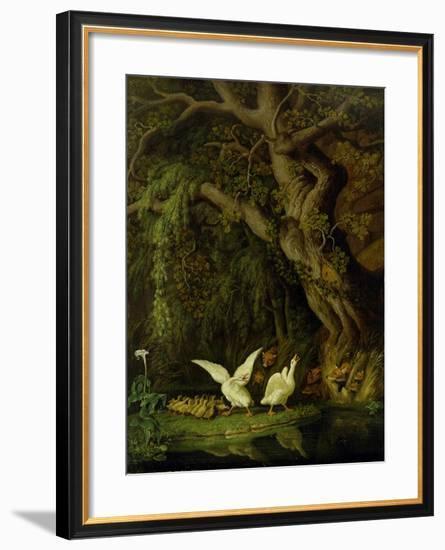 Foxes and Geese-Johann Heinrich Tischbein-Framed Giclee Print
