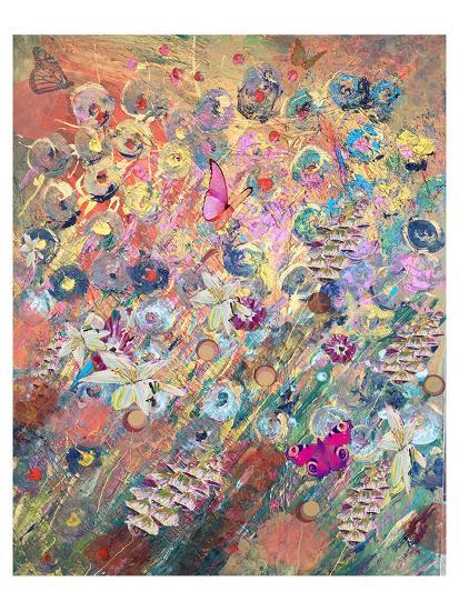 Foxglove grow-Claire Westwood-Art Print