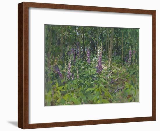 Foxgloves-Susan Ryder-Framed Giclee Print