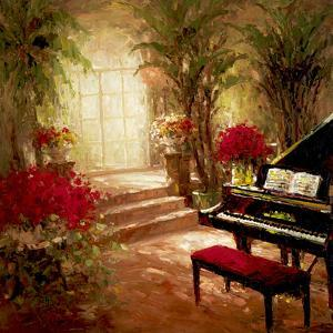 Illuminated Music Room by Foxwell