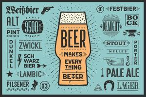 Beer Makes Everything Better by foxysgraphic