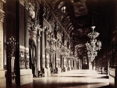 Foyer of the Opera, Paris-Michael Maslan-Photographic Print