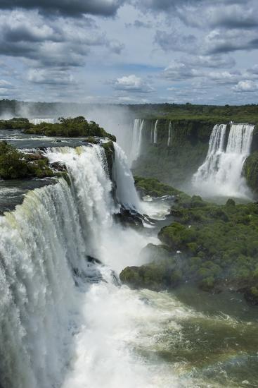 Foz De Iguazu (Iguacu Falls)-Michael Runkel-Photographic Print