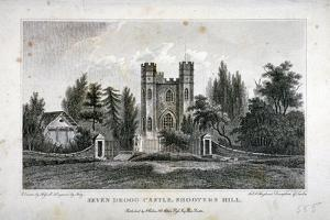 Severndroog Castle, Shooter's Hill, Woolwich, Kent, 1808 by FR Hay