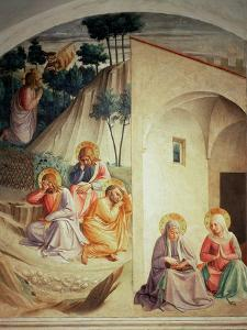 Agony in the Garden, 1442 by Fra Angelico