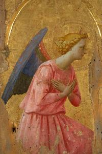 Angel of the Annunciation (Fragment) by Fra Angelico