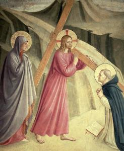 Christ Carrying the Cross, circa 1438-45 by Fra Angelico