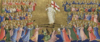 Christ Glorified in the Court of Heaven (Panel from Fiesole San Domenico Altarpiec), C. 1423-1424
