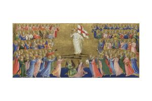 Christ Glorified in the Court of Heaven (Panel from Fiesole San Domenico Altarpiec), C. 1423-1424 by Fra Angelico