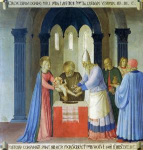 Circumcision of Jesus, Story of the Life of Christ by Fra Angelico