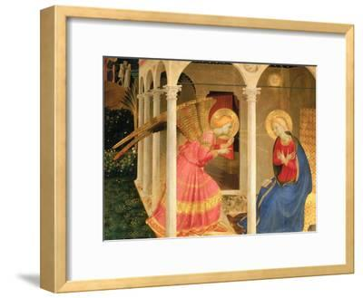 Cortona Altarpiece with the Annunciation, without predellas