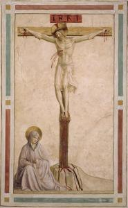 Crucifixion, from Cell 22 by Fra Angelico