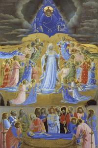 Death and Assumption of the Virgin, Ca 1432 by Fra Angelico