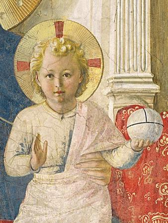 Detail of the Christ Child from the Madonna Delle Ombre