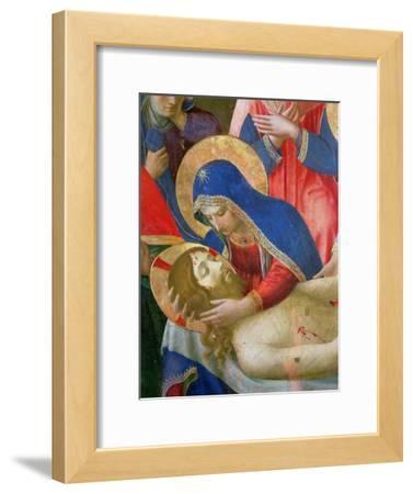 Lamentation over the Dead Christ, 1436-41 (Detail)