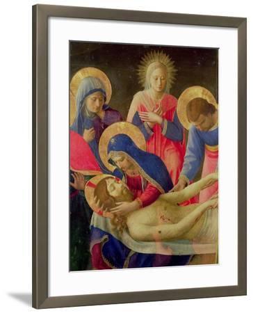 Lamentation over the Dead Christ, 1436-41