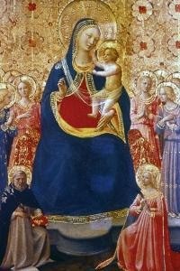 Madonna and Child with Saints, Mid 15th Century by Fra Angelico
