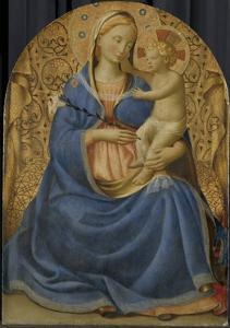 Madonna of Humility, c.1440 by Fra Angelico