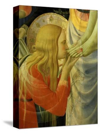 Mary Magdalene Kissing Christ's Feet, from the Deposition of Christ, 1435 (Detail)