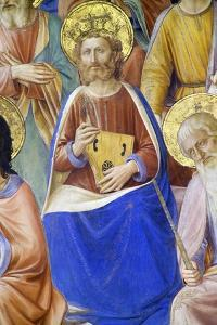Prophets, Detail of King David, 1447 by Fra Angelico
