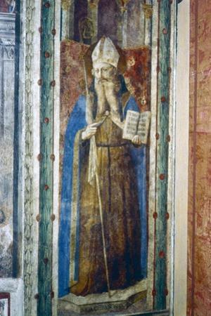St John Chrysostom, Mid 15th Century by Fra Angelico