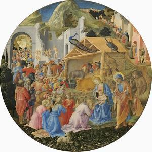 The Adoration of the Magi, C.1440-60 by Fra Angelico