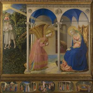 The Annunciation, 1425-8 by Fra Angelico